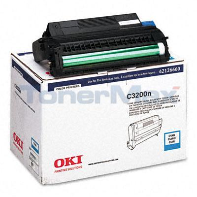 OKIDATA C3100 IMAGE DRUM CYAN